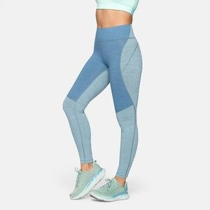 NWT Outdoor Voices TechSweat 7/8 Two-Tone Leggings